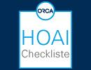 HOAI Checkliste für Ihr Bauprojekt