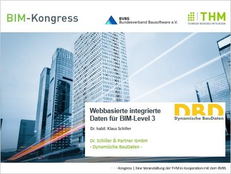 """Vortrag """"Webbasierte integrierte Daten für BIM-Level 3"""""""