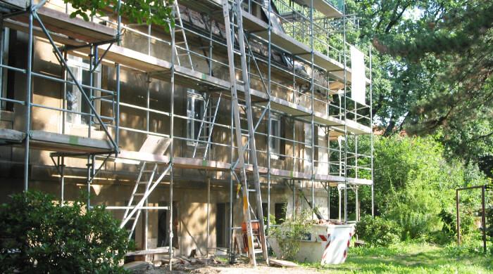 Bauen im Bestand - Sanierung eines Altbaus