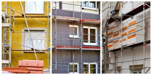 Fassadendämmung mit WDVS
