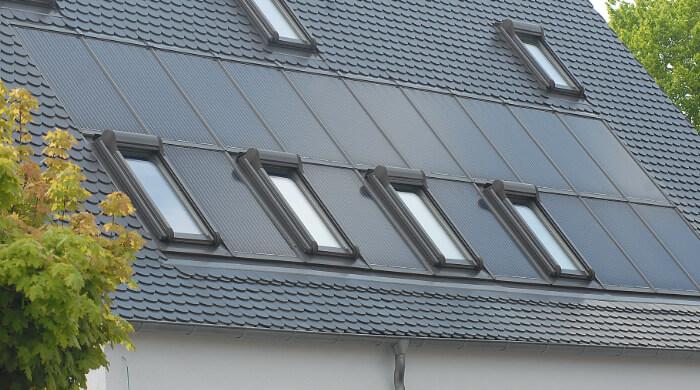 Solarthermieanlagen sind förderfähig. BAFA-Förderung oder KfW-Förderungen sind möglich.