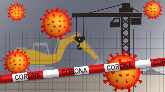 Baustelle in Coburg ist Corona-Hotspot