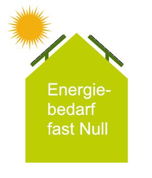 Niedrigstenergie-Gebäude- Bauprofessor-Begriffserläuterung -