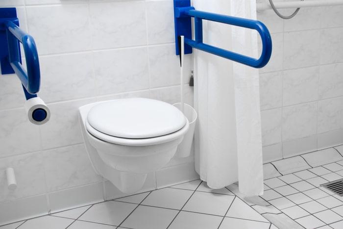Toilette- Bauprofessor-Begriffserläuterung -