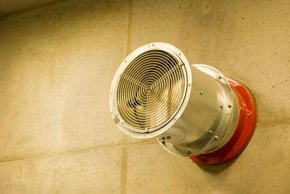 Brandschutzklappe