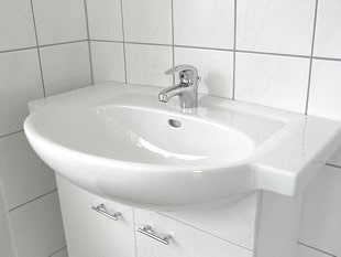 Waschtisch- Bauprofessor-Begriffserläuterung -