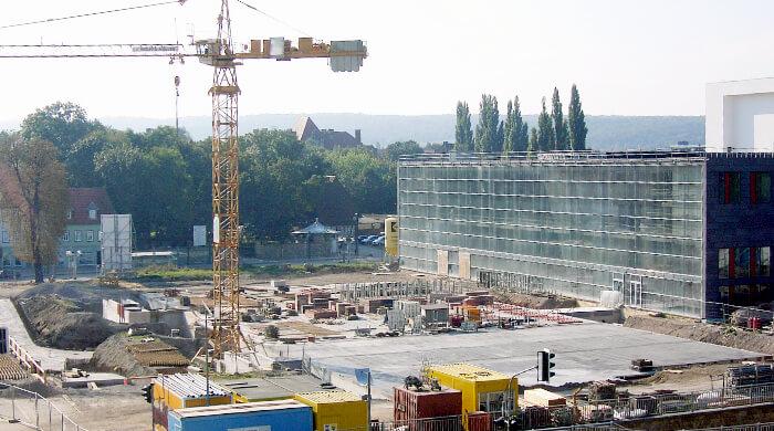 Baustelleneinrichtung (BE)- Bauprofessor-Begriffserläuterung -