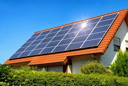 Photovoltaik - Solaranlage auf Dach