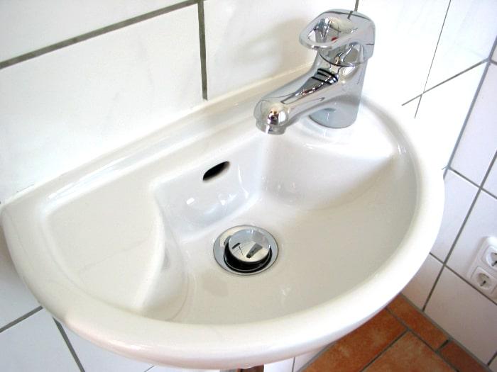 Handwaschbecken- Bauprofessor-Begriffserläuterung -