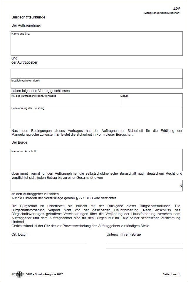 Mängelansprüchebürgschaften- Bauprofessor-Begriffserläuterung -