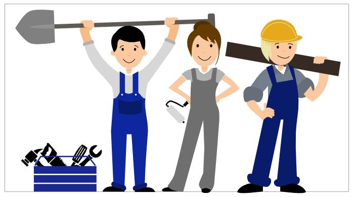 Ausbildungsvergütung im Baugewerbe