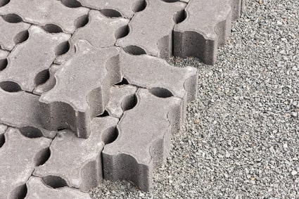 Sickerpflaster aus Beton