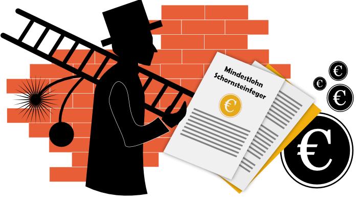 Mindestlohn im Schornsteinfegerhandwerk