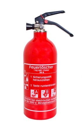 ABC-Pulver-Feuerlöscher