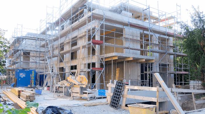 Neubau von Wohnungen