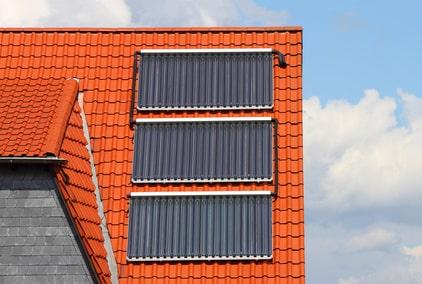 Solaranlage- Bauprofessor-Begriffserläuterung -