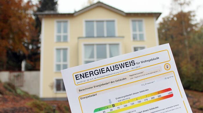 Energieausweis für ein Wohngebäude