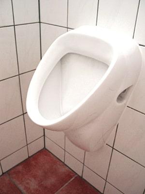 Urinal- Bauprofessor-Begriffserläuterung -