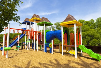 Spielplatzbau- Bauprofessor-Begriffserläuterung -