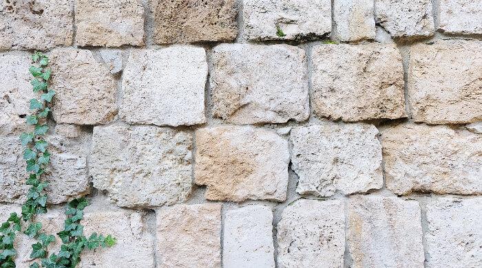 Mauerwerk aus Natursteinen