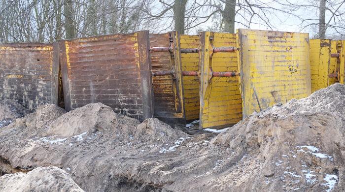 Genormte RSV-Elemente zum Grubenverbau