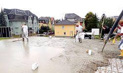 HABA BAU: Betonage Haus in Chemnitz