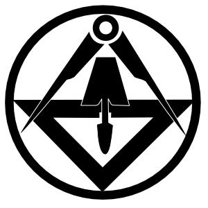 Zunftzeichen der Stuckateur und Gipser
