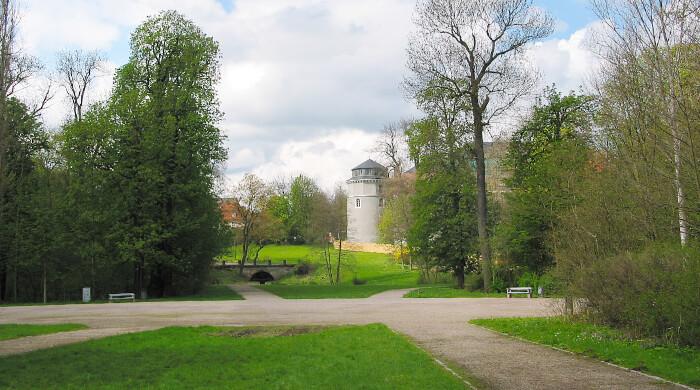 Park an der Ilm in Weimar, nach einer Landschaftsplanung von Johann Wolfgang von Goethe